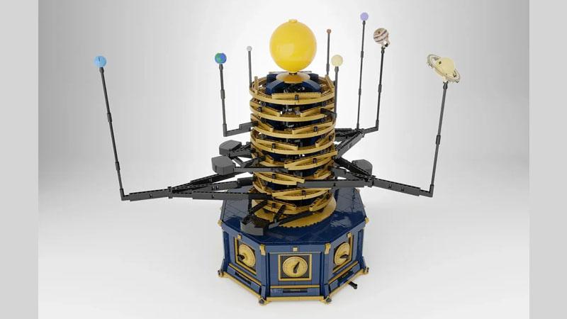 レゴアイデアで『動く太陽系儀』が製品化レビュー進出!2021年第3回1万サポート獲得デザイン紹介