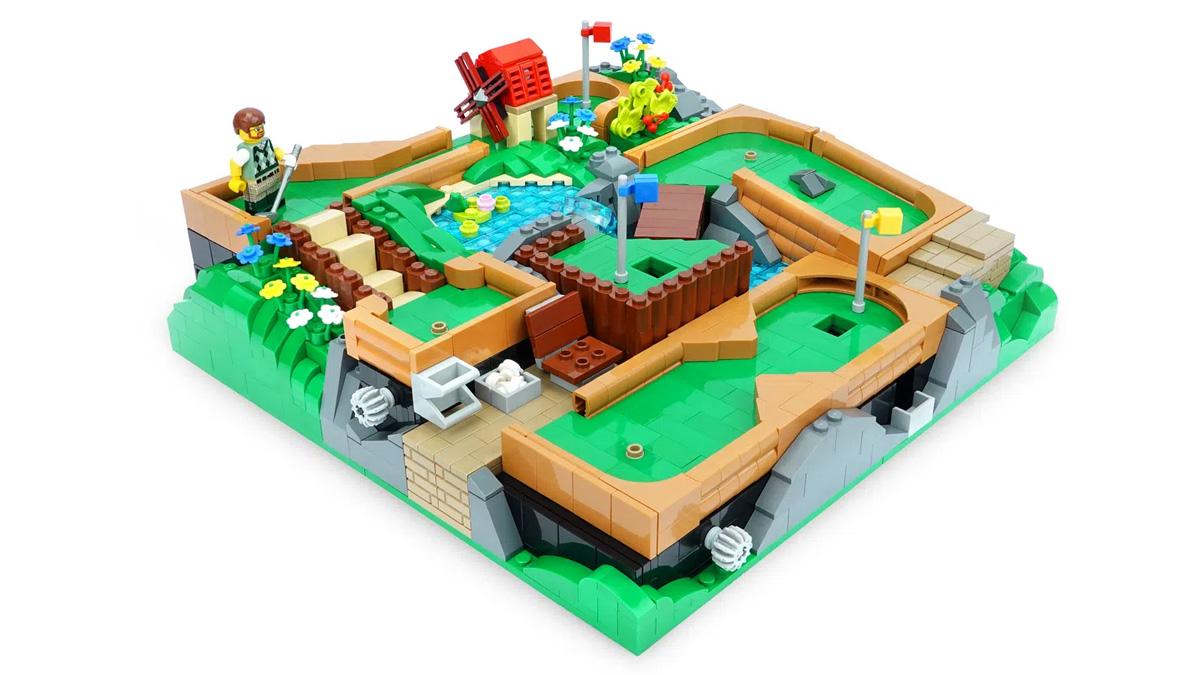 レゴアイデアで『遊んで楽しい!動くミニゴルフコース』が製品化レビュー進出!2021年第2回1万サポート獲得デザイン紹介