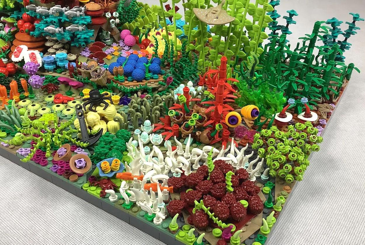 レゴアイデアで『グレートコーラルリーフ』が製品化レビュー進出!2021年第3回1万サポート獲得デザイン紹介