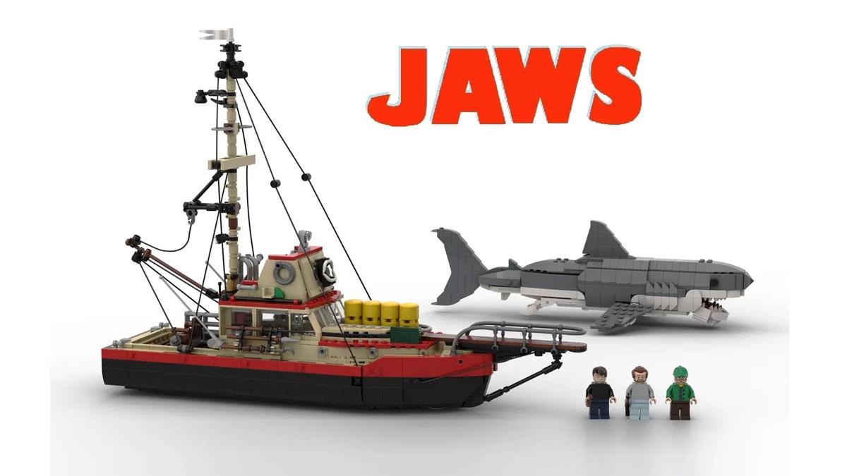 レゴアイデアで『ジョーズ』が製品化レビュー進出!2021年第2回1万サポート獲得デザイン紹介