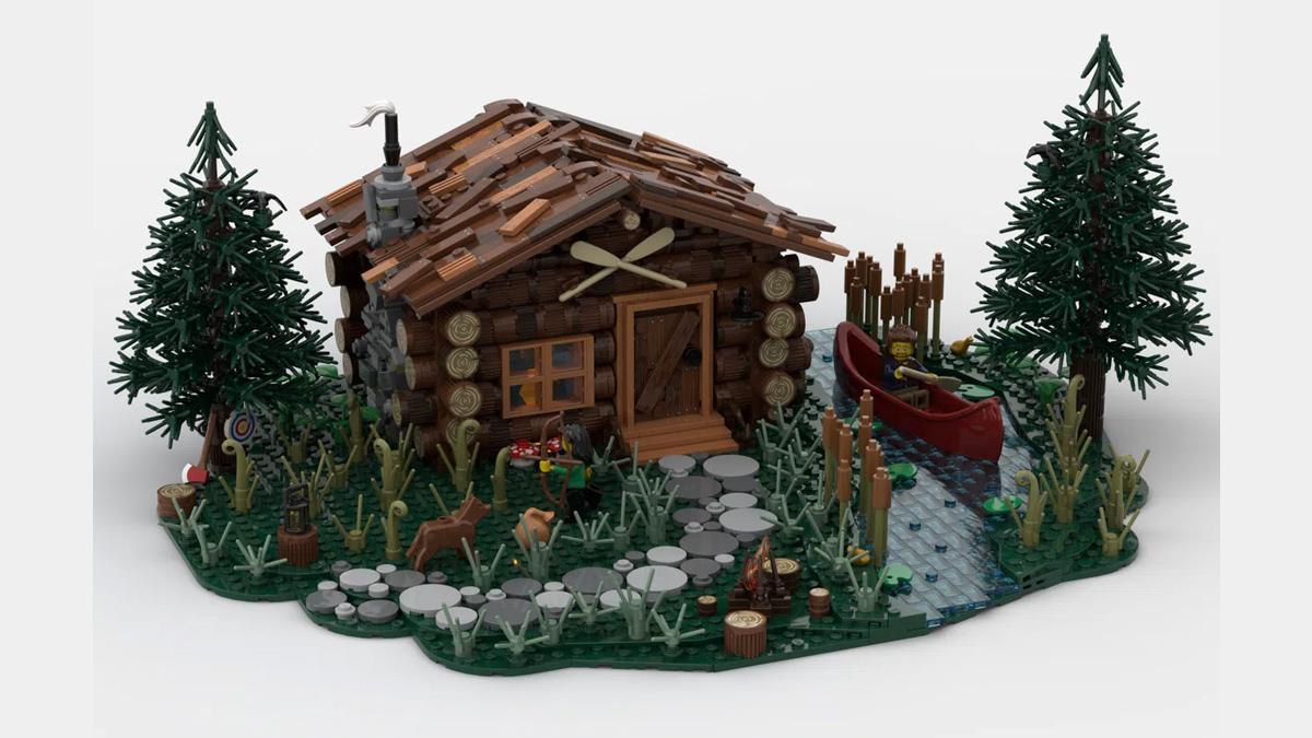 レゴアイデアで『ログハウス』が製品化レビュー進出!2021年第2回1万サポート獲得デザイン紹介