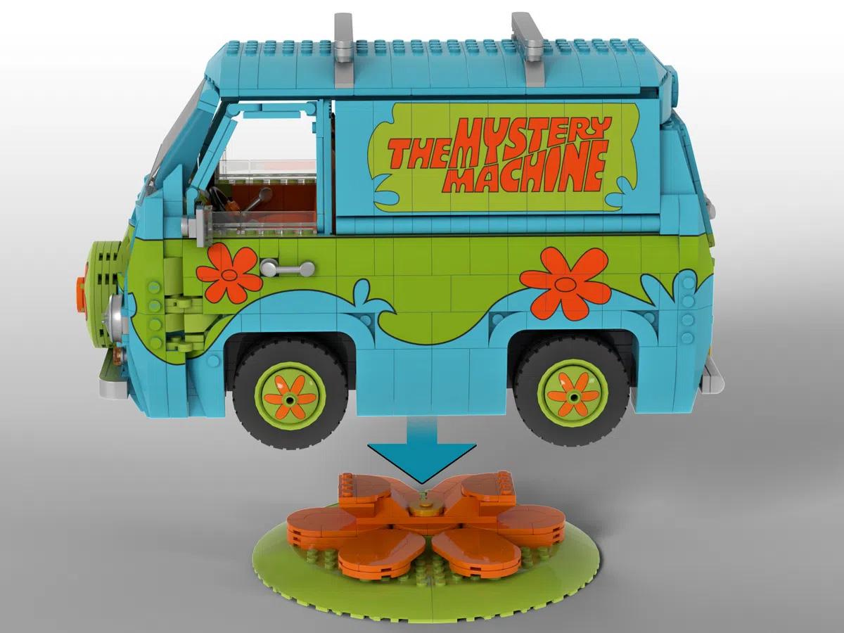 レゴアイデアで『スクービー・ドゥーのミステリー・マシーン』が製品化レビュー進出!2021年第2回1万サポート獲得デザイン紹介