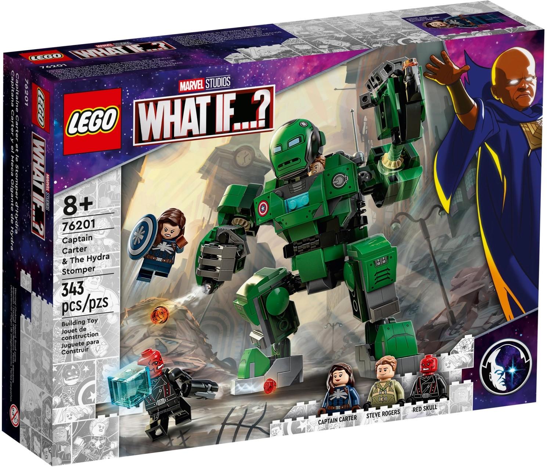 レゴ(LEGO) マーベル・スーパー・ヒーローズ キャプテン・カーター&ヒドラ・ストンパー 76201