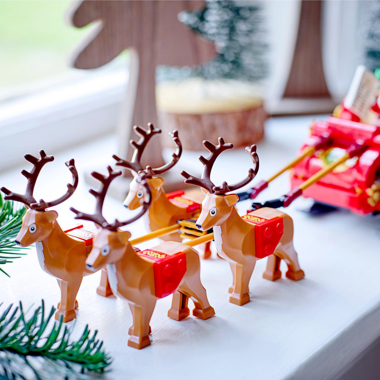 レゴクリスマス『40499 サンタのそり』新製品情報(2021)