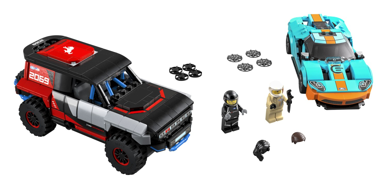 76905 フォードGTヘリテージエディション&ブロンコR