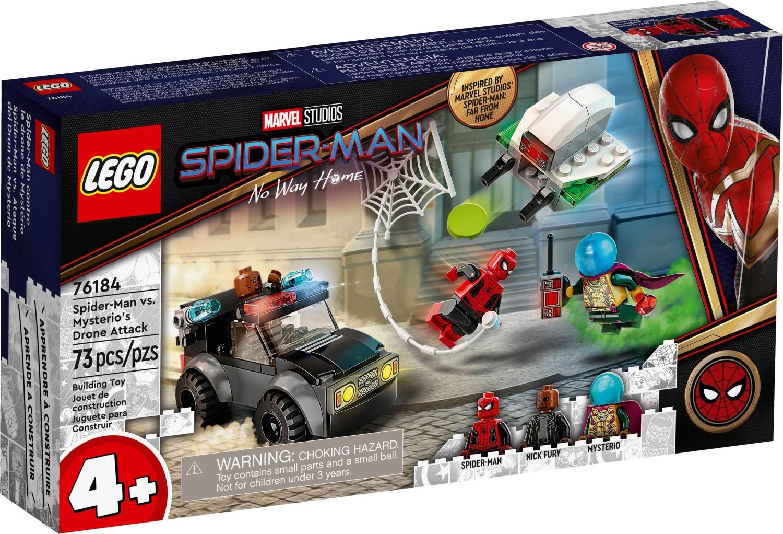 レゴ(LEGO) マーベル・スーパー・ヒーローズ ミステリオのドローンアタック 76184