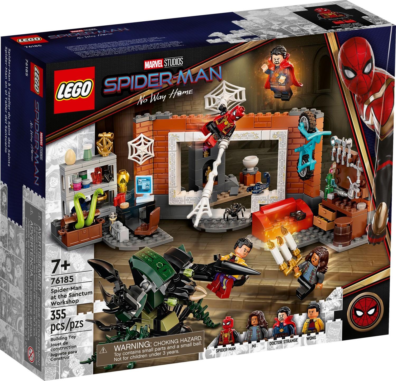 レゴ(LEGO) マーベル・スーパー・ヒーローズ サンクタムワークショップのスパイダーマン 76185