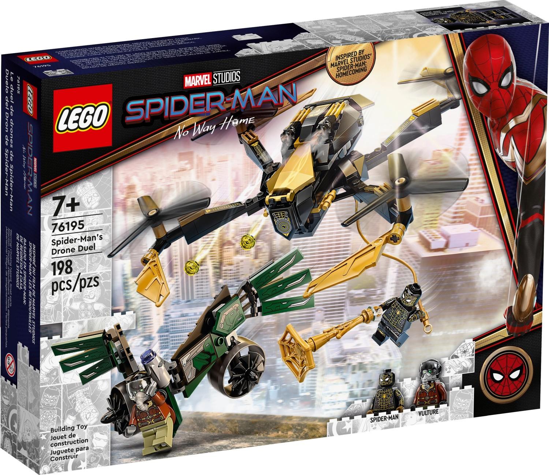 レゴ(LEGO) マーベル・スーパー・ヒーローズ スパイダーマンのドローン決闘 76195