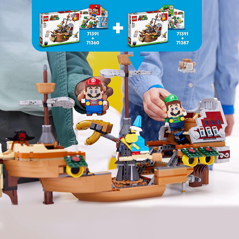 8月1日発売レゴ『71391 のりこめ! クッパのひこうせんかん チャレンジ』新製品情報(2021)