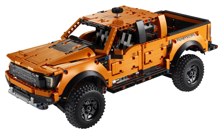 10月1日発売レゴ テクニック『42126 フォード・ラプター・F150』新製品情報:遊びながら機械を学ぶシリーズ(2021)