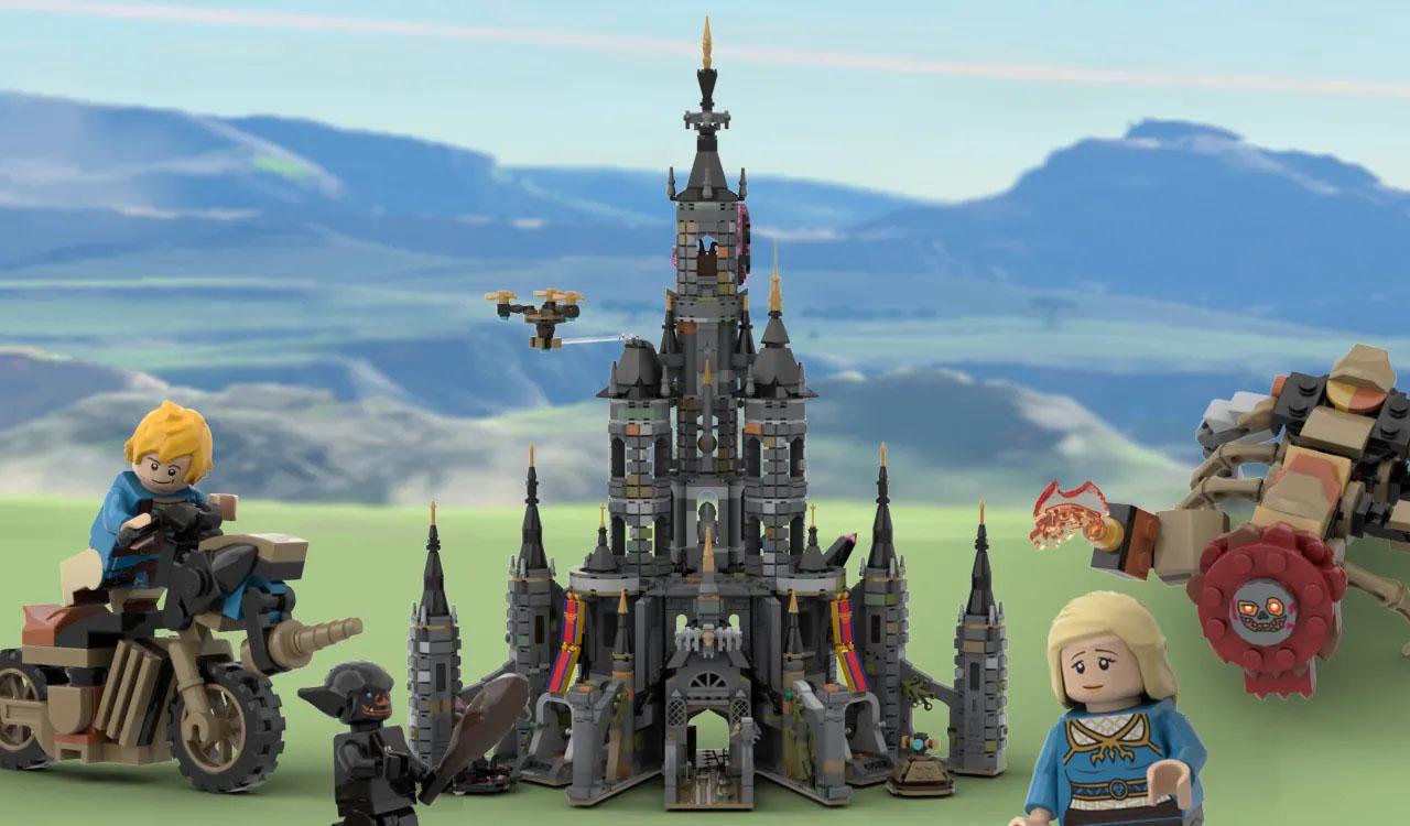 レゴアイデアで『ハイラル城:30周年記念』が製品化レビュー進出!2021年第3回1万サポート獲得デザイン紹介