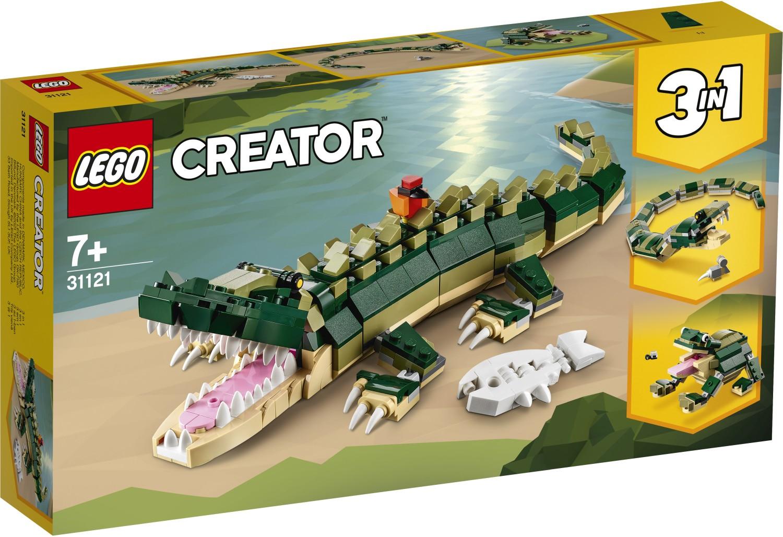 レゴ(LEGO) クリエイター ワニ 31121