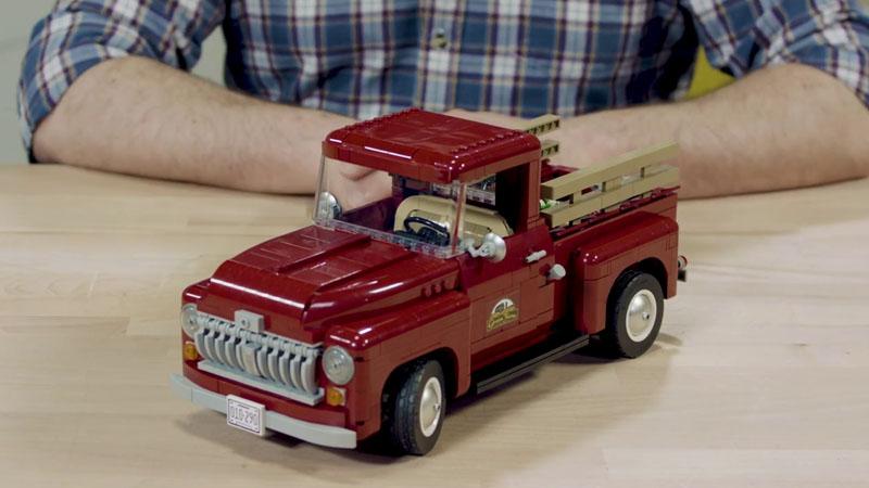10月1日発売レゴ『10290 ピックアップトラック』新製品情報:大人レゴ(2021)