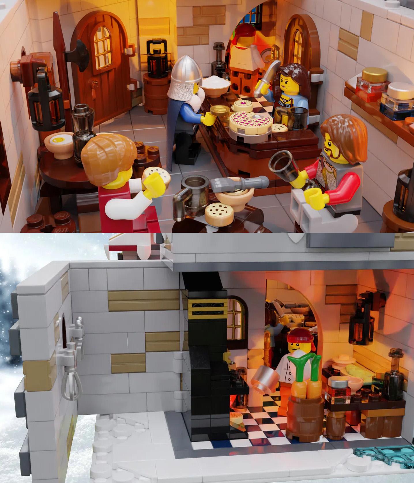 レゴアイデアで『雪酒場』が製品化レビュー進出!2021年第2回1万サポート獲得デザイン紹介
