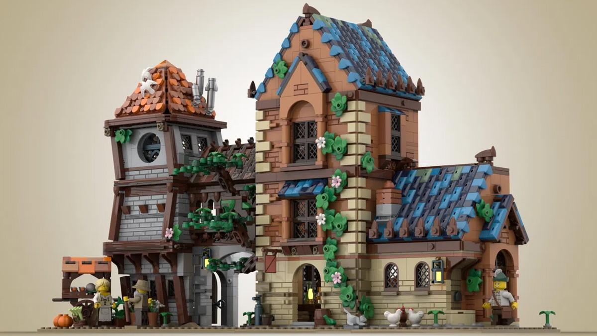 レゴアイデアで『中世の酒場』が製品化レビュー進出!2021年第2回1万サポート獲得デザイン紹介